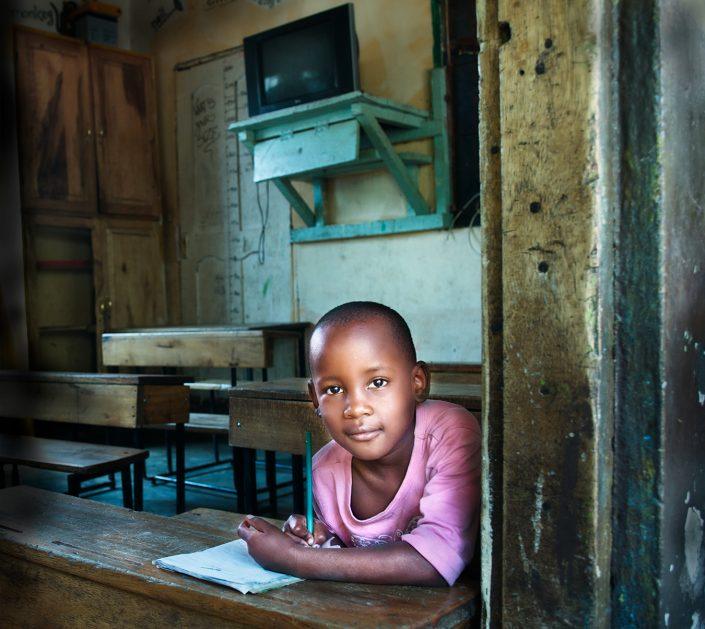 Orphan from Tanzania